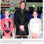 An den Jugend Schweizermeisterschaften im Eislaufen vom 01.02.2015