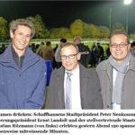 Am 29.10.2015 am Cupspiel FCS - FC Sion im Stadion Breite