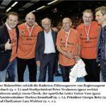 27.05.2016: Kadetten zum 9. Mal Schweizer Meister im Handball