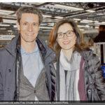 11.02.2017: Mit Ehefrau Ursula am Championsleague Spiel Kadetten - Kiel in der BBC Arena
