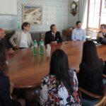 19.06.2017: Delegation der philippinischen Botschaft auf Besuch im Stadthaus anlässlich des Geburtstags von Jose Rizal, dem philippinischen Nationalhelden