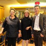 Am Neujahrsempfang der SPD-Singen mit Monika Lacher, Präsidentin SP Stadt SH und Regina Brütsch, Vorsitzende der SPD-Fraktion im Gemeinderat Singen