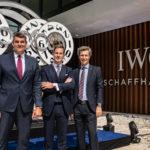 Einweihung neue IWC-Manufaktur vom 27.08.2018 zusammen mit Regierungspräsident Christian Amsler und IWC-CEO Christoph Granger Herr