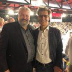 19.05.2019: Mit Stadtpräsident Michael Künzle in der AXA-Arena in Winterthur