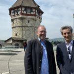17.05.2019: Mit Oberbürgermeister Bernd Vöhringer anlässlich der Bürgerfahrt Sindelfingen auf dem Munot