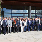 Delegationen der Städte des Städtebunds Bodensee am Bodenseetag vom 05.04.2019 in Friedrichshafen