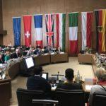 14.06.2019: Kommunalpolitisches Gespräch der Partnerstädte im Rathaus Sindelfingen zum Thema Wohnbaupolitik