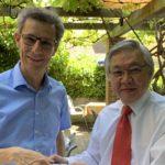 26.06.2019: Treffen mit Andrew Toh, Botschafter von Singapur