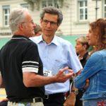 Strassenwahlkampf Sommer 2016