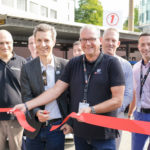 Eröffnung der E-Motorshow von SH POWER vom 20.08.2017 zusammen mit Hagen Pöhnert, Direktor der städtischen Werke