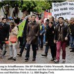 1. Mai-Feier 2016 in Schaffhausen