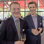 Am 20.06.2016 mit Roger Roth, Geschäftsführer ITS, beim Techno-Apéro im SIG-Haus in Neuhausen