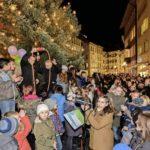 25.11.2016: Einschalten der Weihnachtsbeleuchtung in der Schaffhauser Altstadt