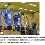 Tischtennis Schweizermeisterschaften Nachwuchs in Neuhausen am 28.05.2017