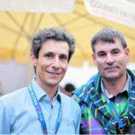 Zusammen mit Regierungsrat Christian Amsler am Stars in Town 2013