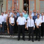 02.09.2016: Treffen der Stadtregierungen St. Gallen, Winterthur, Frauenfeld und Schaffhausen auf Schloss Charlottenfels