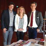 29.04.2016: Zusammen mit Stadtrat Simon Stocker und Grossstadtratspräsidentin Cornelia Stamm Hurter in Friedrichshafen beim Städtebund Bodensee