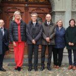 14.11.2019: Besuch der österreischischen Botschafterin Ursula Plassnik