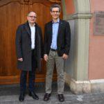 28.02.2020: Besuch im Stadthaus von Hanspeter Hilfiker, Stadtpräsident Aarau