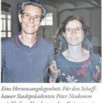Am Aktionstag Kammgarn West und ihre Zukunft (Schaffhauser Bock vom 28.07.2020)